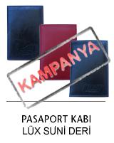Lüx Suni Deri Pasaport Kılıfı